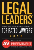 2016 Legal Leaders Top Rated Lawyers